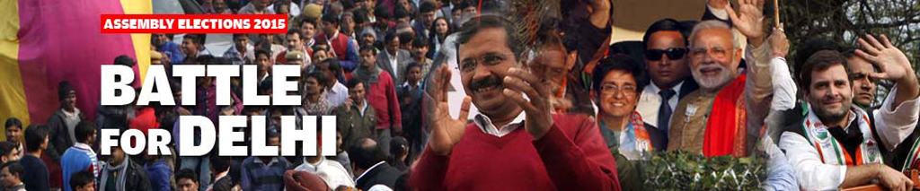 Assembly Elections 2015: Battle for Delhi