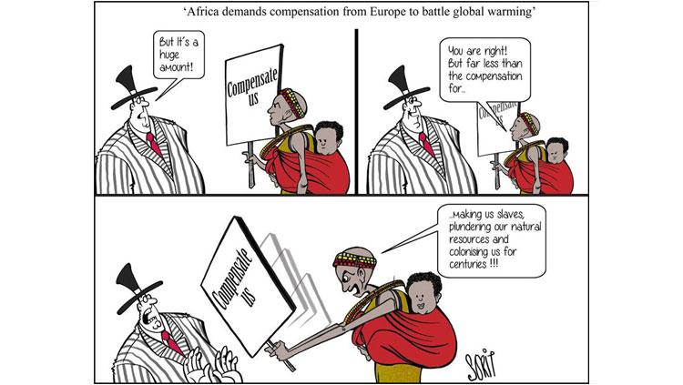 Paris climate talks in toons