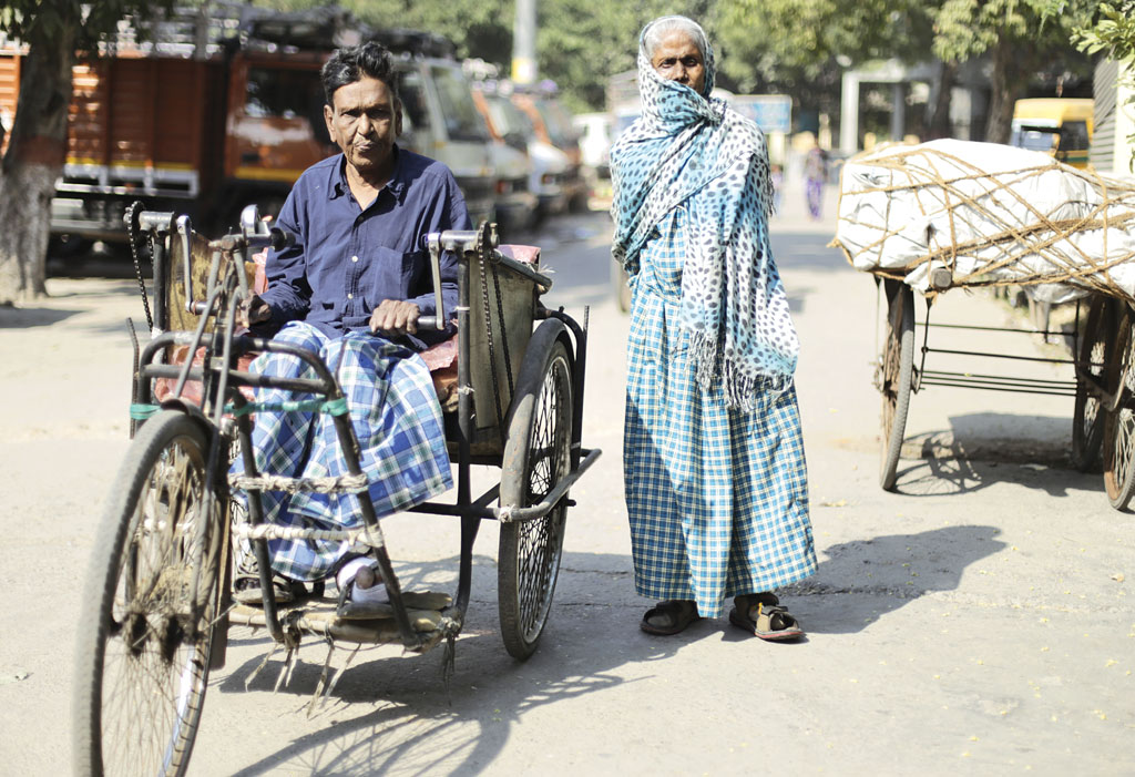 Leprosy patients spend almost 30 per cent of their family income on treatment. Most patients do not receive pension (Photo: Vikas Choudhary)