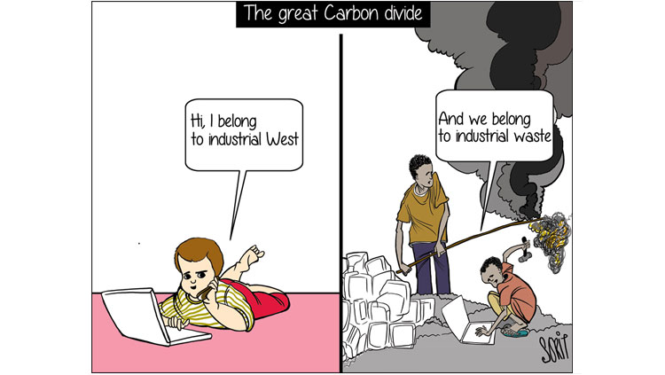 The great 'carbon' divide
