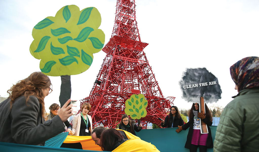 The Paris Agreement removes all liability of developed countries for the loss and damage suffered by the poor of the world due to climate change