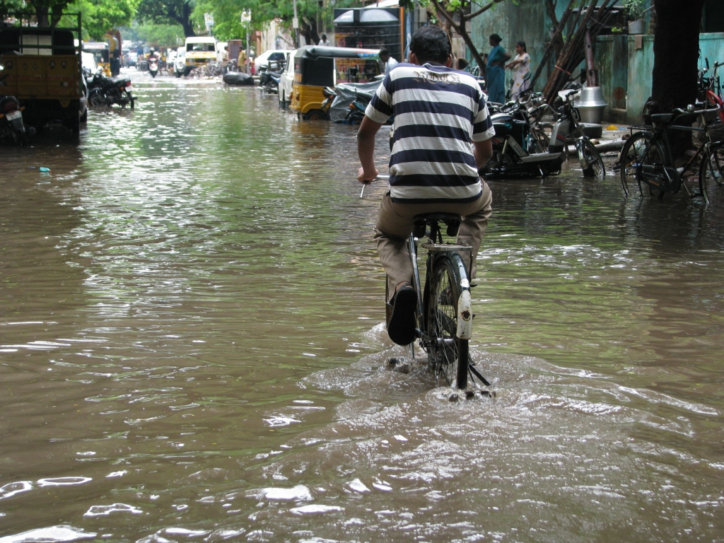 Chennai monsoon  Credit: McKay Savage, Flickr