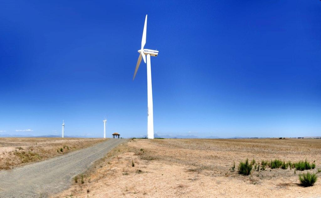 Klipheuwel wind-farm, South Africa Credit: Flickr