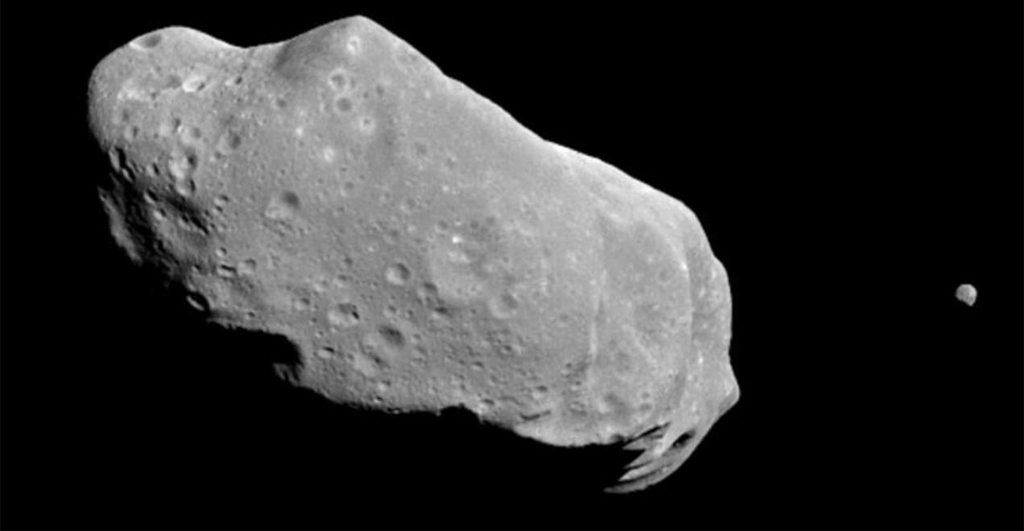 Asteroids like Ida might contain precious resources. But who owns them? (NASA, CC BY-NC)