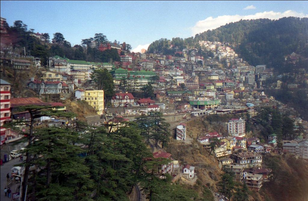 A panoramic view of Shimla  Credit: Flickr