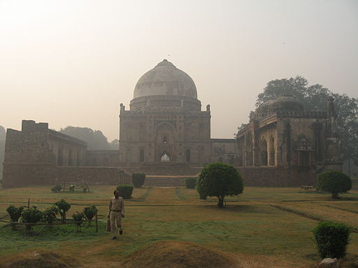 Exposure monitoring was conducted in four of the largest parks of Delhi