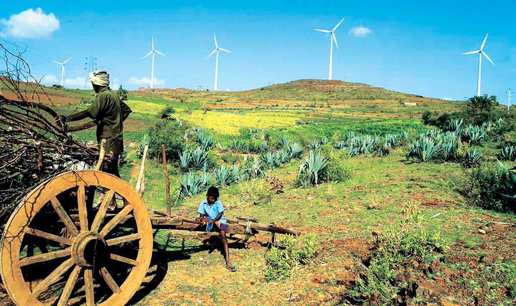 The wind industry has benefitted because most of the equipment is being manufactured within the country (Source: yahoo.inc)