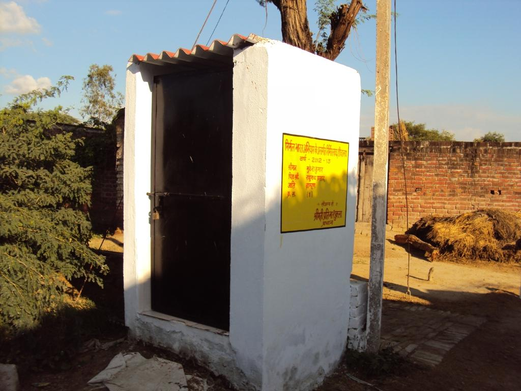 The rapid survey suggests that 42.5 per cent of rural household toilets and 87.9 per cent of urban household toilets have access to water (Photo: Jitendra)
