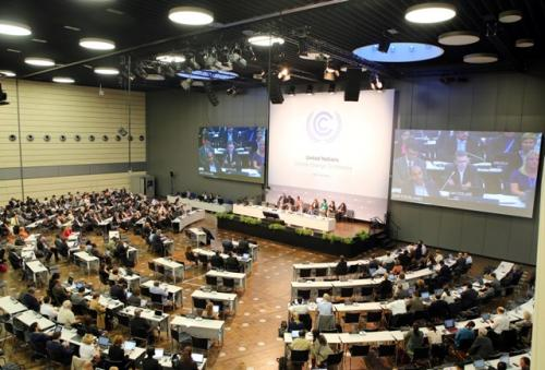 Climate negotiations moving at a slow pace, but seemingly in the right direction