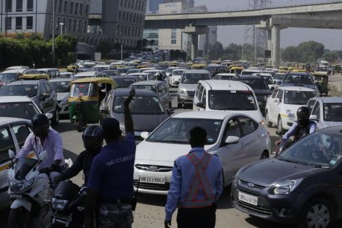 Air pollution levels in Delhi drop by 60 per cent on car-free day