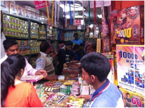 Firecracker sales may go up by Wednesday