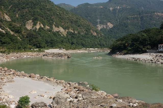 Considering all aspects of the once abandoned but now rejuvenated project of Interlinking Indian Rivers, many logical questions remain unanswered. (In pic), a view of the Ganga in Rishikesh
