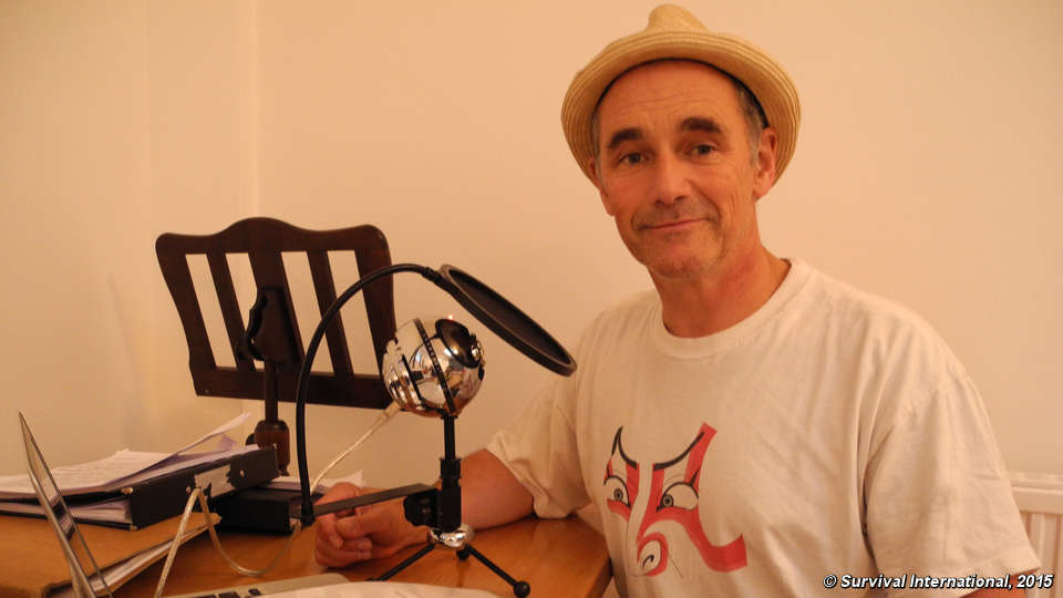 British actor Mark Rylance voices support for the Kawahiva