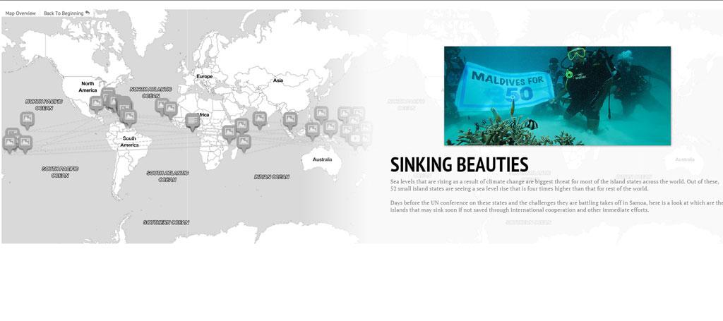 Sinking Beauties