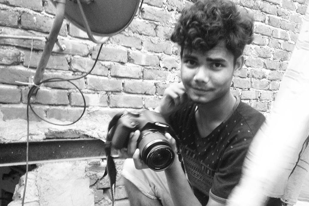 These photos were taken by Suraj, a Jagdamba Camp resident. He has studied photography for the past three years with Kid Powered Media, an NGO dedicated to helping disadvantaged kids tell their stories