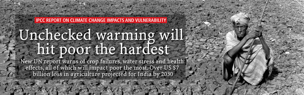 IPCC report on climate change impacts and vulnerability