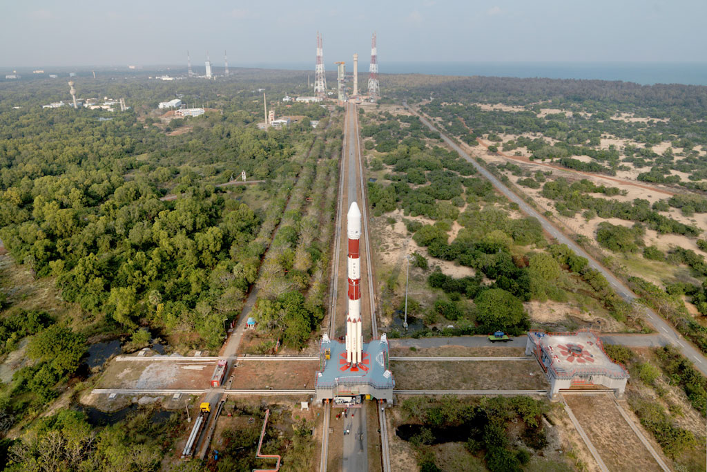 IRNSS-1E was launched from the Satish Dhawan Space Centre in Sriharikota (ISRO)