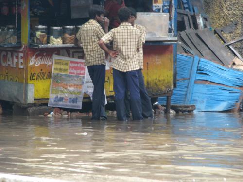 Disease outbreak feared due to Chennai floods