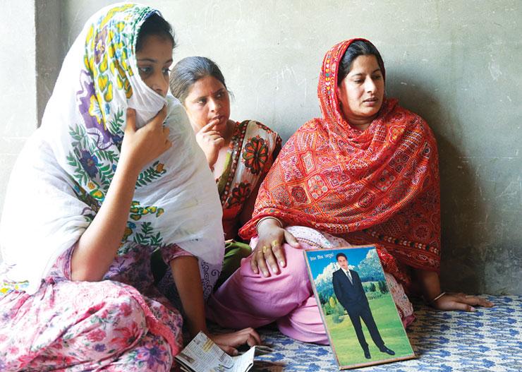 Sukhmander Singh's family