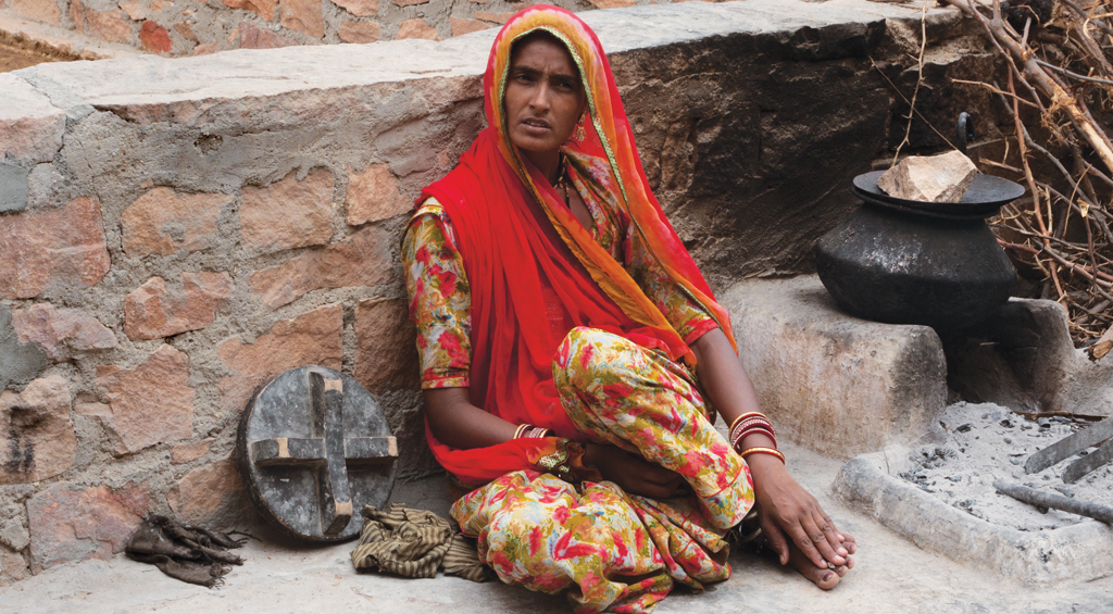 Close to 80 per cent of all households in India use traditional cooking fuels such as firewood. This is leading to largescale premature deaths and diseases (Photo: Vikas Choudhary)