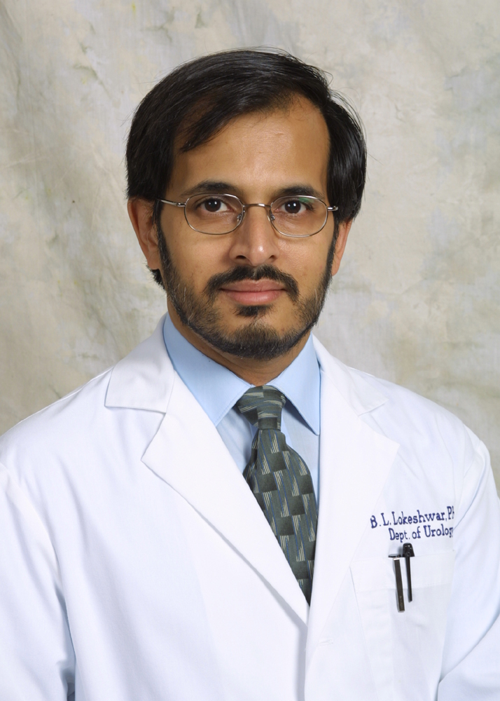 Dr. Balakrishna L. Lokeshwar (University of Miami website)