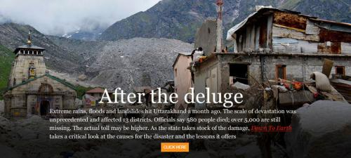Uttarakhand floods: is the disaster human-induced?