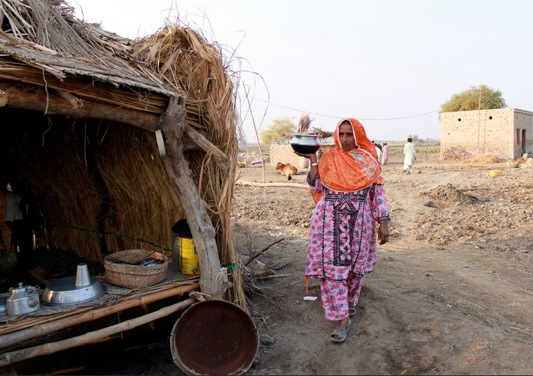 A village in Pakistan's Sindh province (DFID/Flickr)