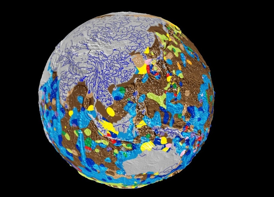 World's first digital map of the ocean floor released