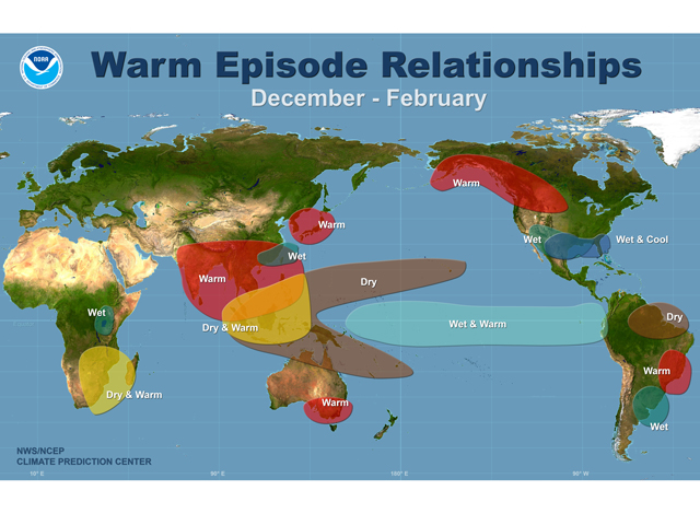 IMAGE 4: El Niño's impact during the winter 
