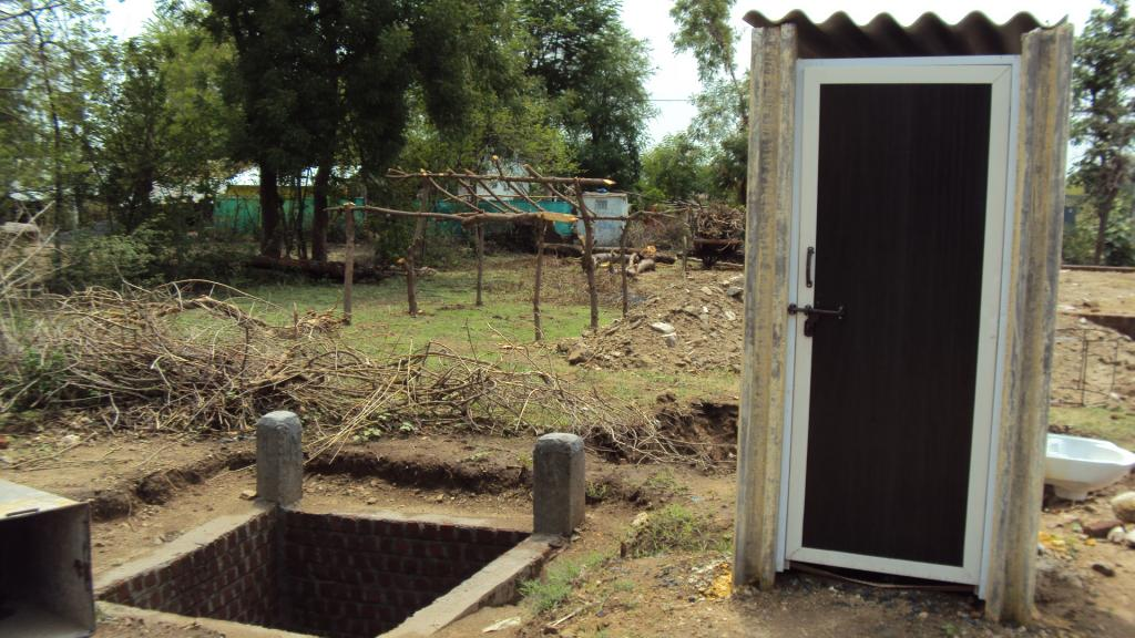 The target of constructing a toilet in every two seconds to reach the figure of 113 million toilets in four years still persists Credit: Jitendra