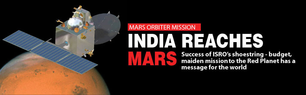 India reaches for Mars