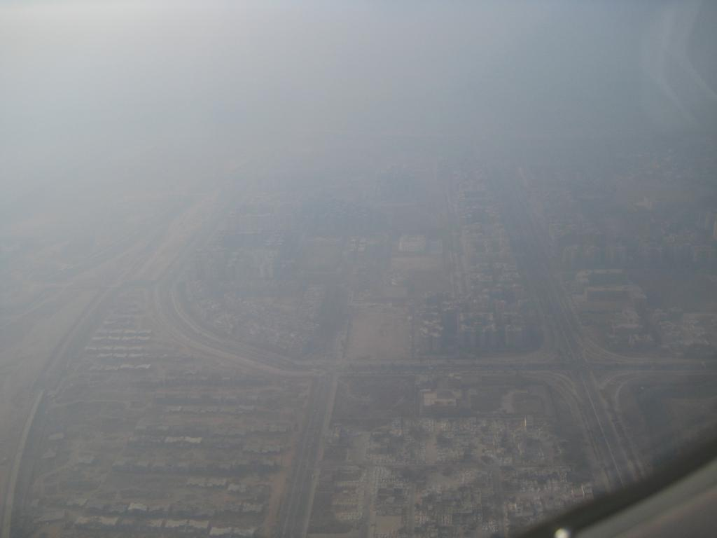 Smog over Delhi  Credit: Evan Lovely, Flickr