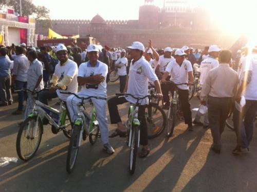 Second car-free day observed in Delhi on November 22