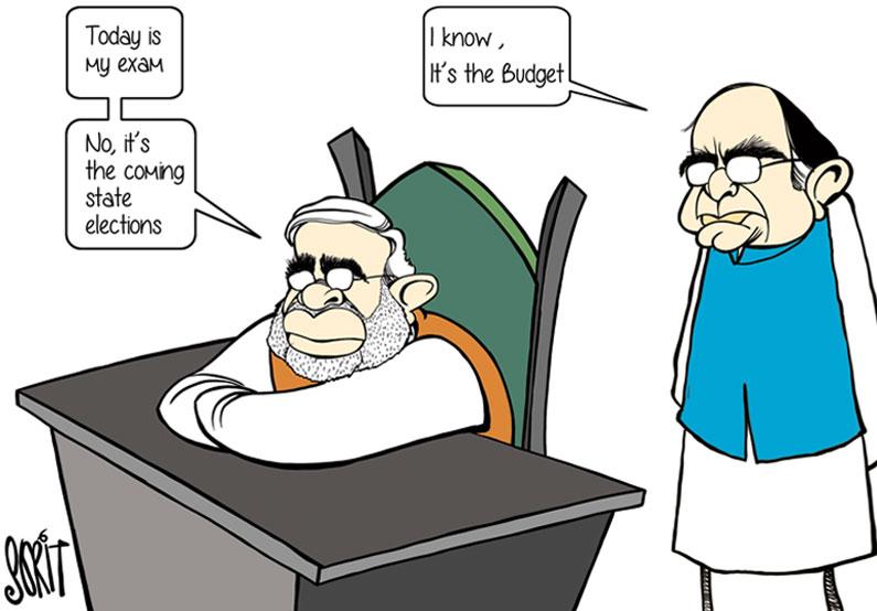 Budget 2016 in cartoons