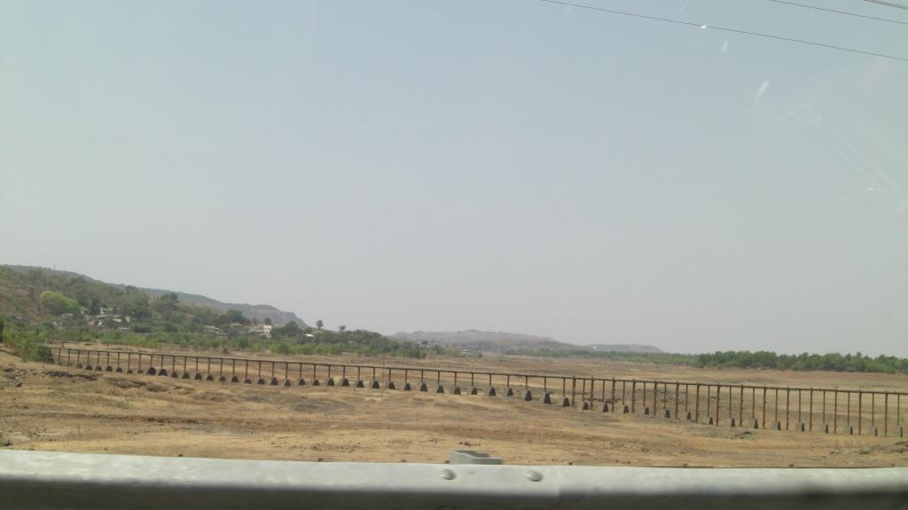 A dry lake near Lonawala, Maharashtra at the height of the summer season. Credit: Flickr