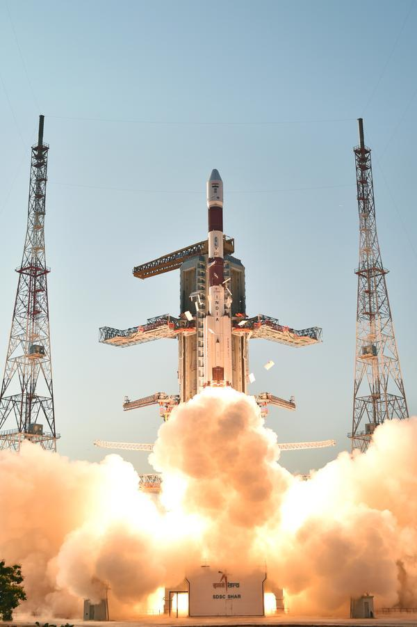 PSLV C27 launch, Sriharikota, March 28, 2015   Credit: Flickr