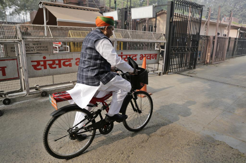 Meghwal says if other MPs join him in his demand, parking for bicycles will be designated in the Parliament too. He had even demanded that public transport be provided to MPs. The government has now come out with battery-operated buses for them