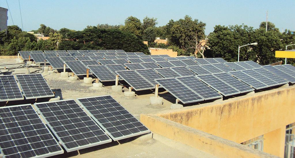 Rooftop solar is still expensive for average household in India (Photo: Aruna Kumarankandath)