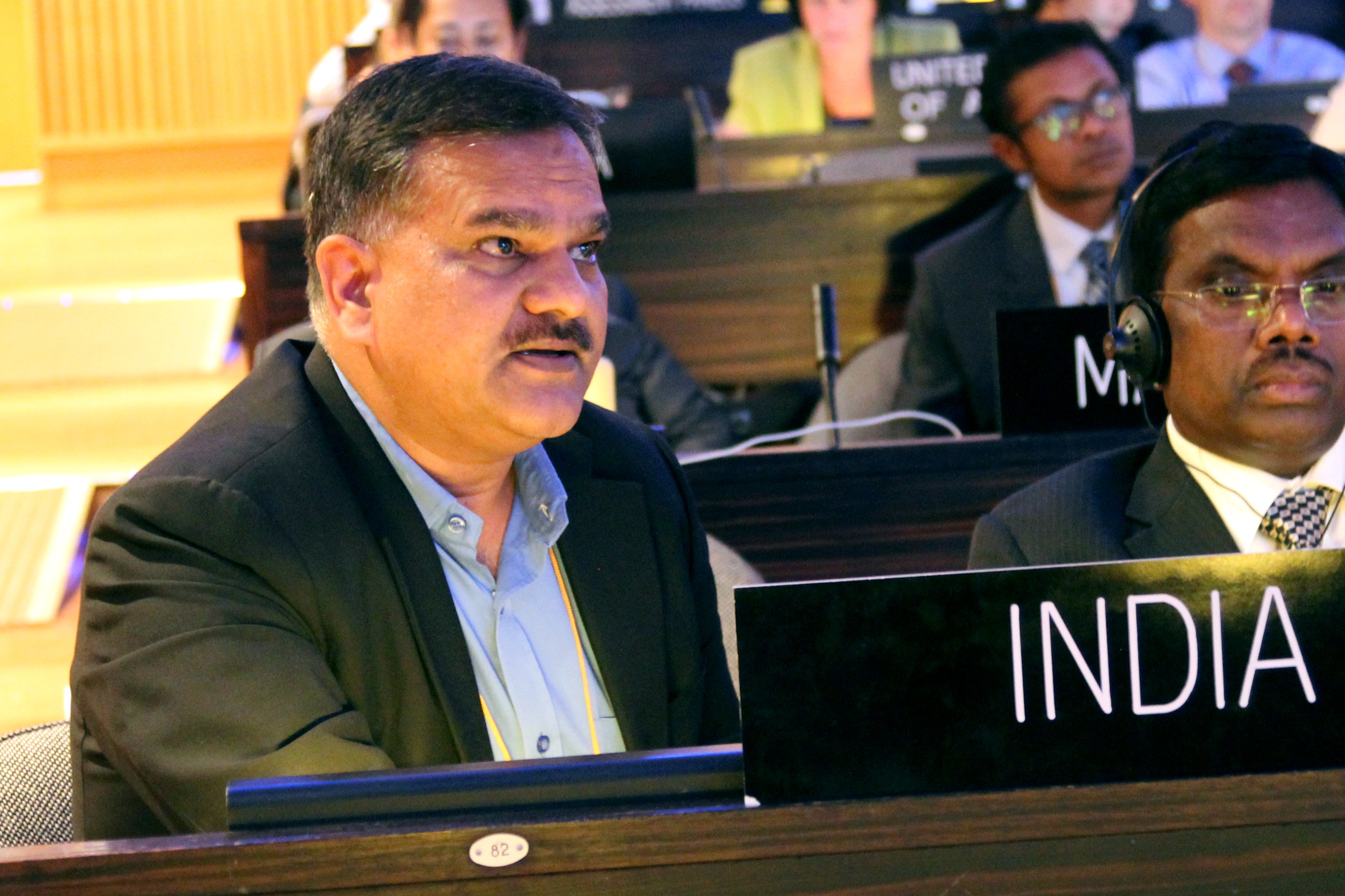 Manoj Kumar Singh, joint secretary, MoEFCC, mentioned the challenges being faced by developing countries