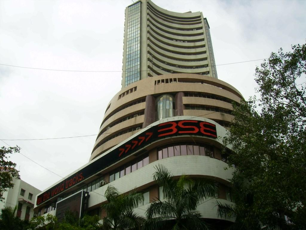 The Mumbai Stock Exchange building Credit: Flickr