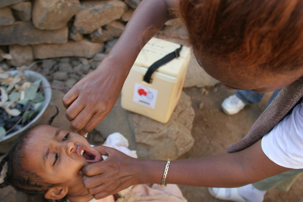 Violent insurgencies can hit the polio eradication drive in Africa, according to media reports Credit: UNICEF Ethiopia/Flickr