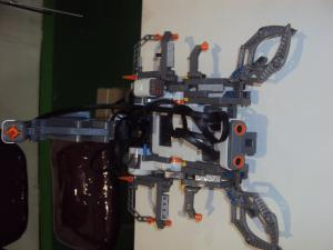Built by Ganesh Prateek, a college student from Bengaluru, the scorpion robot walks and stings like a scorpion. A UV sensor acts like the scorpion's eyes, projecting 2D images of any object that crosses its path. The scorpion's brain, located at its b