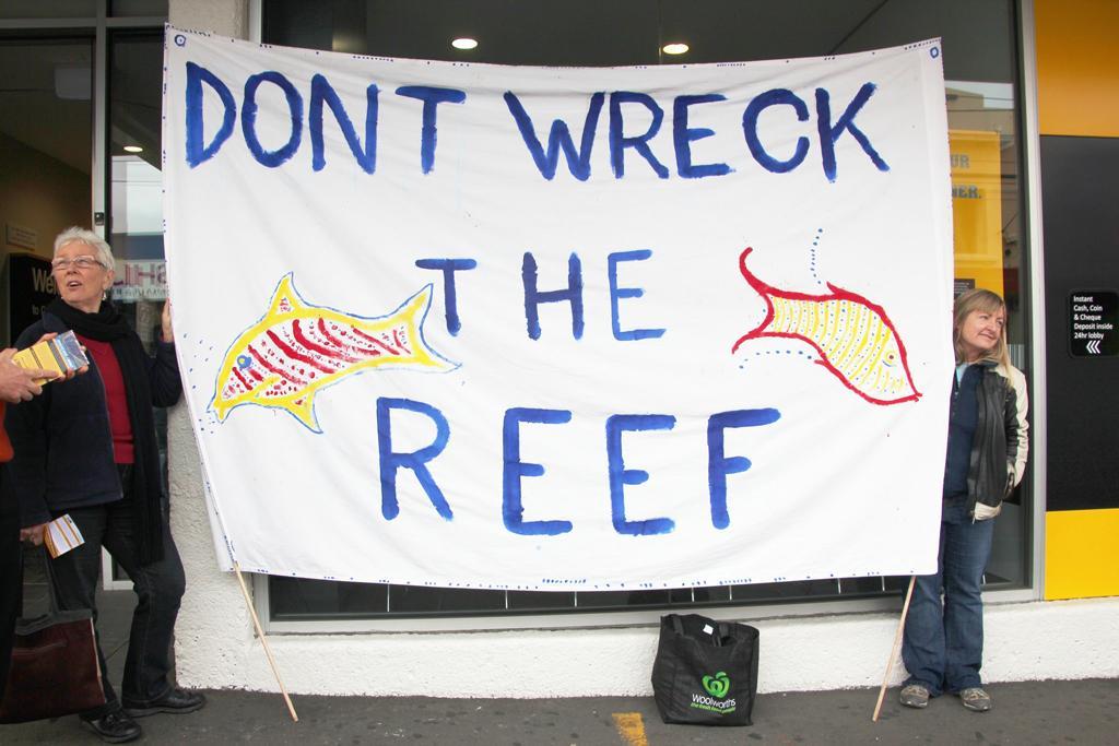 Protest Against Adani's Carmichael mine project (Credit: Takver/Flickr)