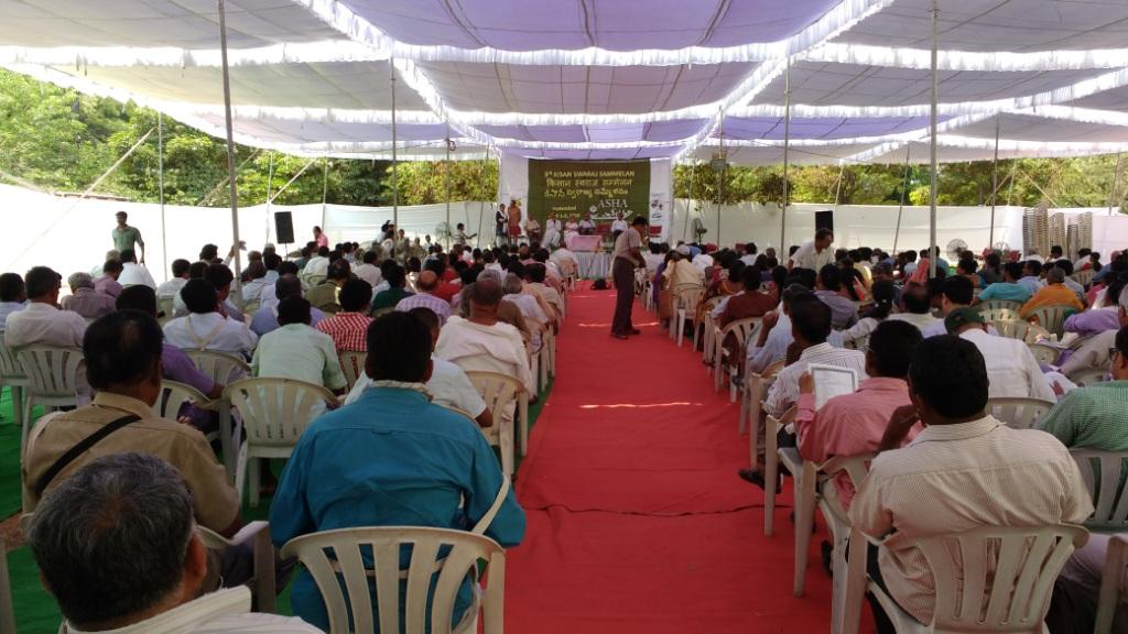 Organised by the Alliance for Sustainable and Holistic Agriculture, a group comprising 400 diverse organisations from across India, the conference witnessed participants from 25 states