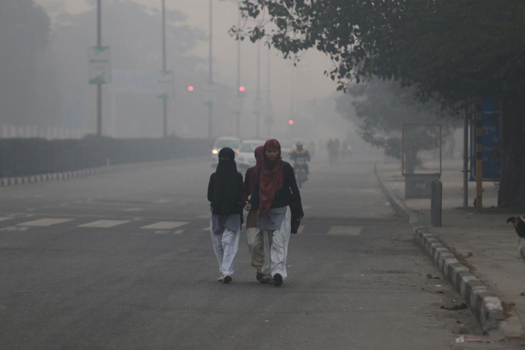 Fog in Delhi Credit: Vikas Choudhary, Flickr