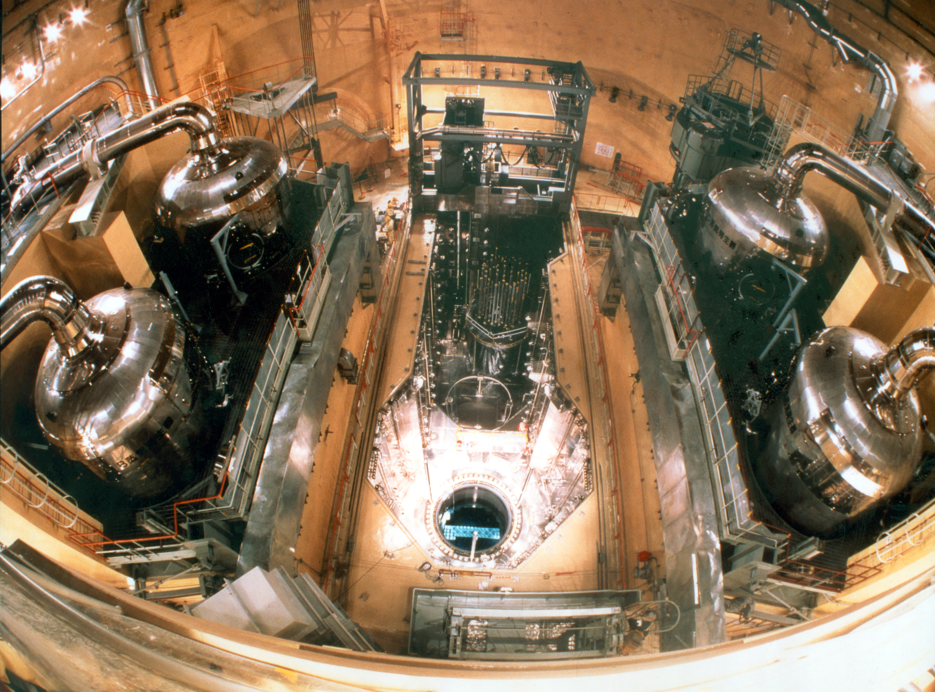 Inside a Mitsubishi Pressure Water Reactor in Tsuruga, Japan