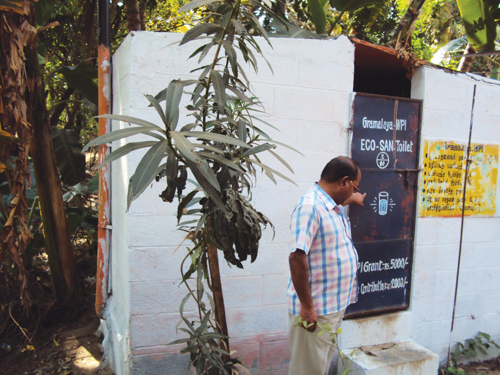 Though ECOSAN toilets are expensive, they generate excellent fertiliser and conserve water (Photo: Rashmi Verma)