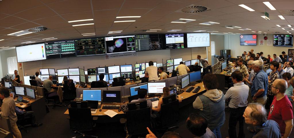 Collision recourse at CERN