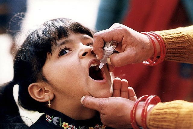 No wild poliovirus case in South-East Asia in five years: WHO