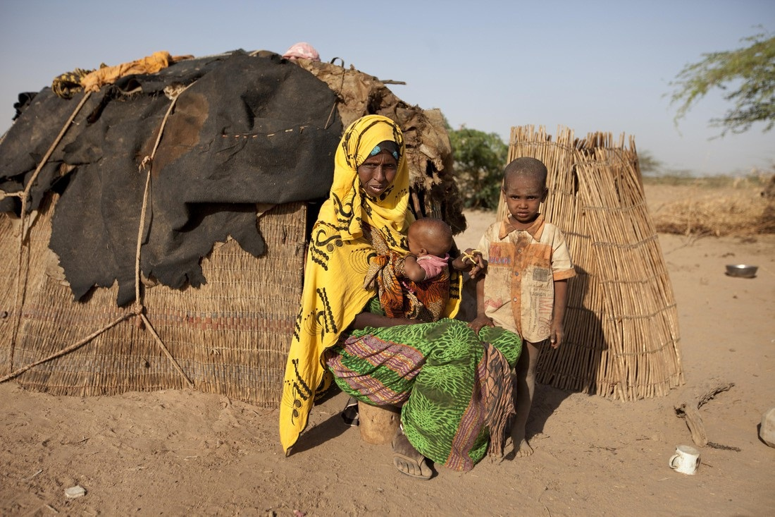 Drought-ravaged Ethiopia